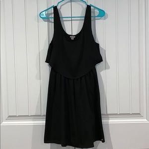GUESS Women's Ruffle and Lace Dress
